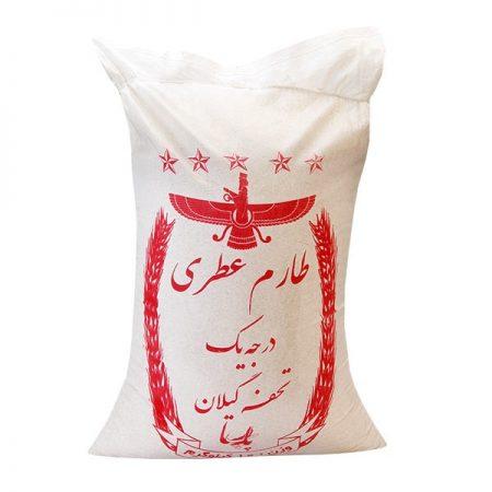 برنج ایرانی طارم عطری درجه یک تحفه گیلان (10Kg)